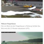 Abflug in WInzeln