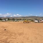 Flugplatz in Afrika