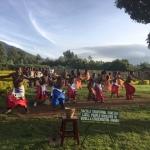 Der traditionelle Tanz ist anders als im Schwarzwald ...