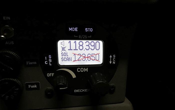 Neue Frequenz 118390